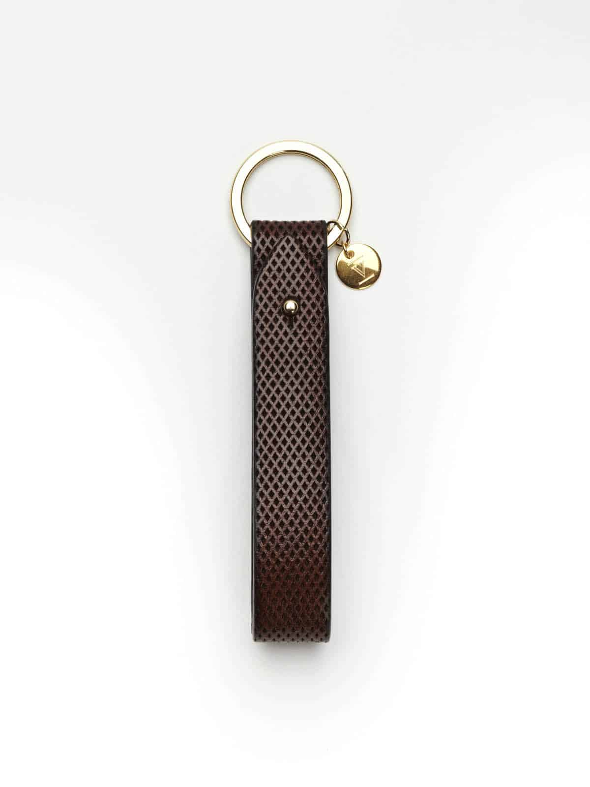 personalized keyring pendant