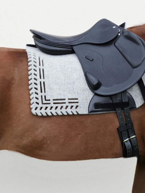 pure wool felt saddle pad ALGUND - VALOR
