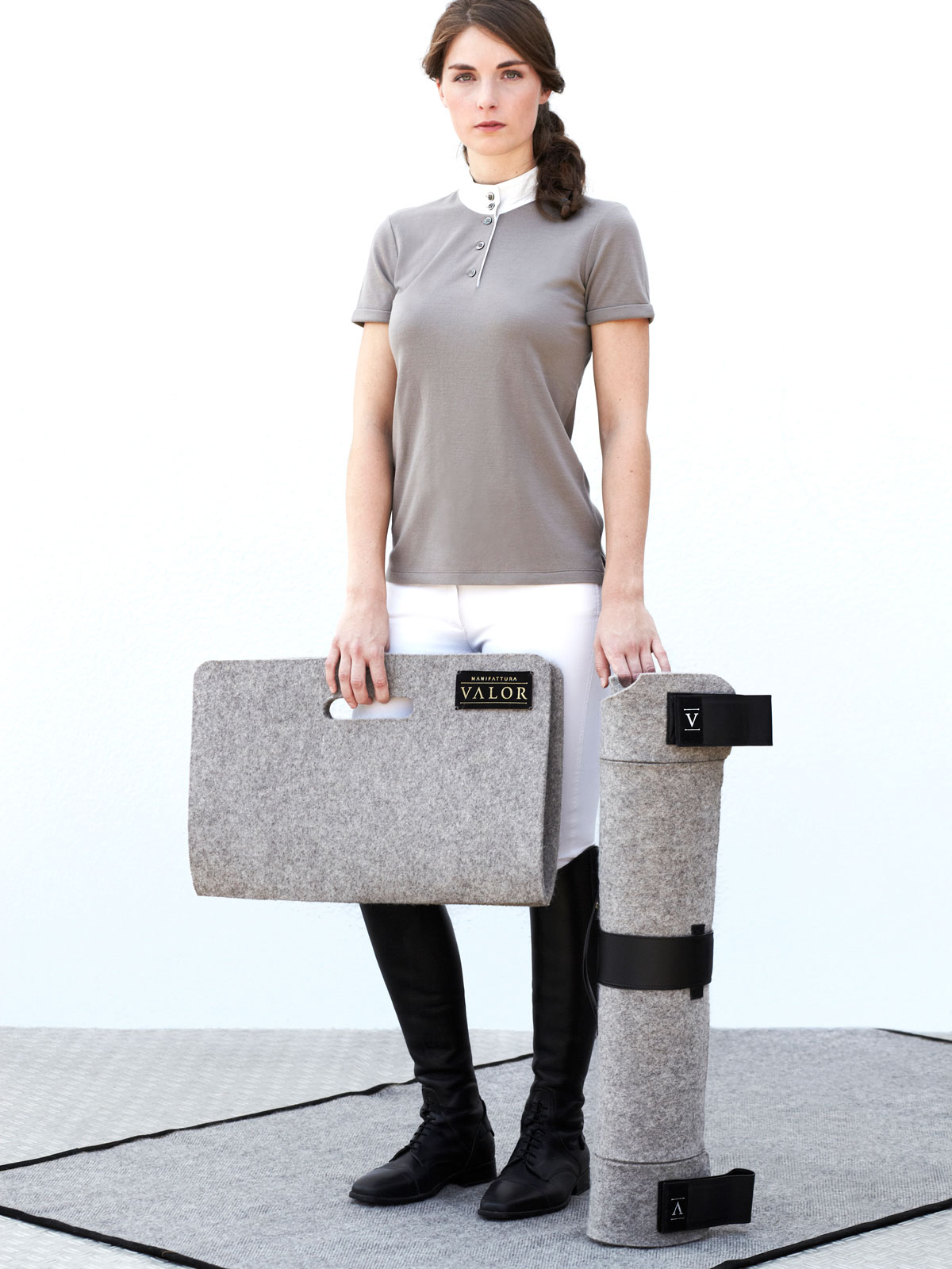 pure new wool dog mat