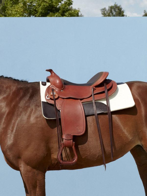 pure wool felt western saddle pad BOSCO VALOR