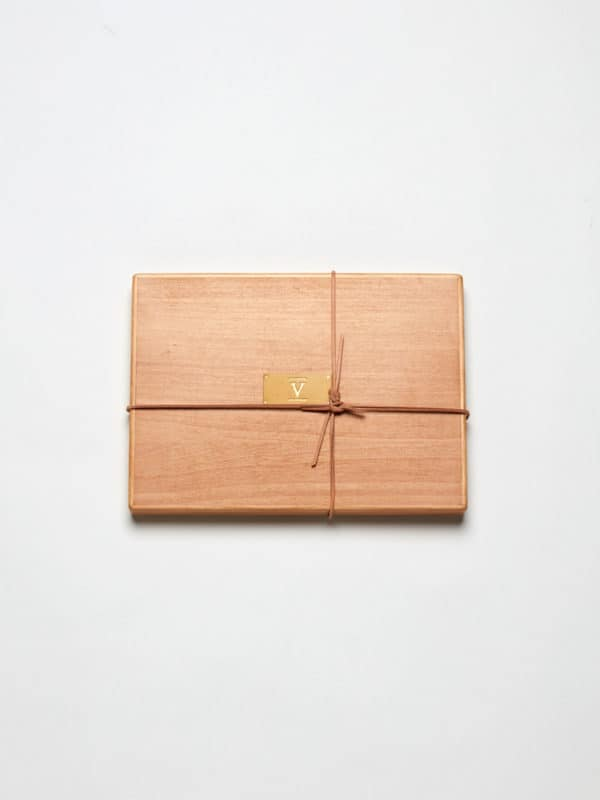 wooden box for gift Certificate