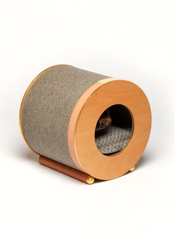 luxury wool dog and cat cave