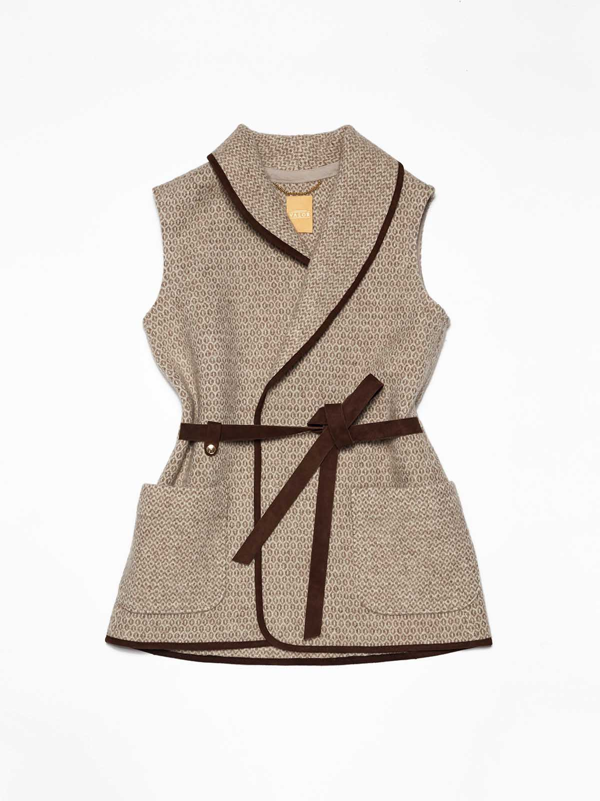 VALOR handwoven riding vest GLANA