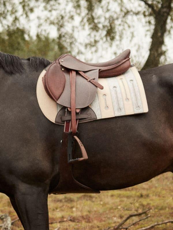 wool felt saddle pad